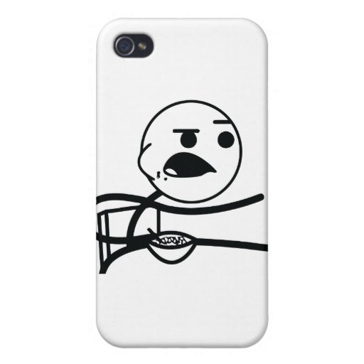 cereal-guy cover for iPhone 4