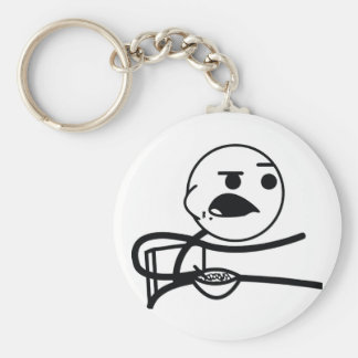 Cereal Guy Key Ring