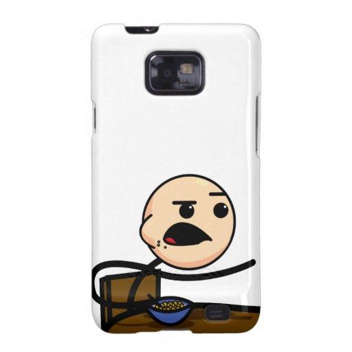 Cereal Guy Samsung Galaxy S Case Samsung Galaxy S2 Cover