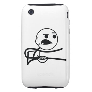 Cereal Guy Tough iPhone 3 Case