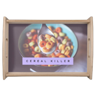 Cereal Killer Serving Tray