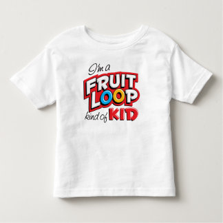 Cereal Lovin' Kid Toddler T-Shirt