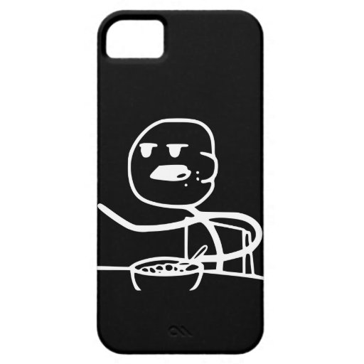 Cereal Meme Guy iPhone 5/5S Cover