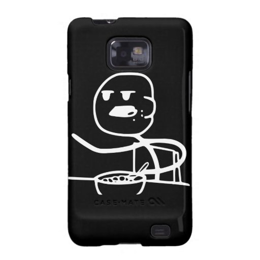 Cereal Meme Guy Galaxy S2 Cover