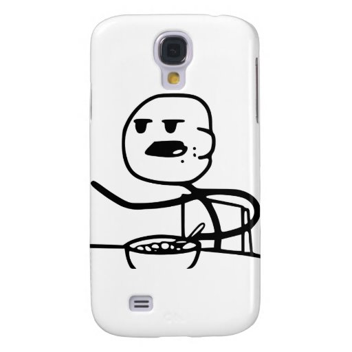 Cereal Meme Guy HTC Vivid Covers