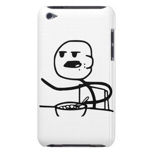 Cereal Meme Guy iPod Touch Cover