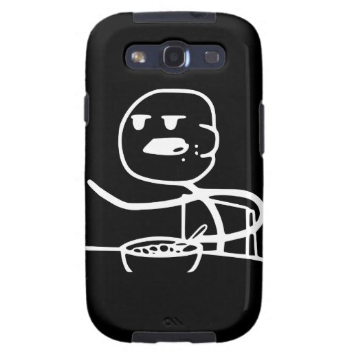 Cereal Meme Guy Samsung Galaxy S3 Cover