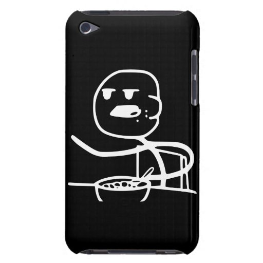 Cereal Meme Guy iPod Touch Case