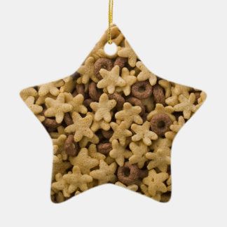 Cereal Star Christmas Ornament