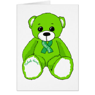 Cerebral Palsy Awareness Teddy Bear Products Card
