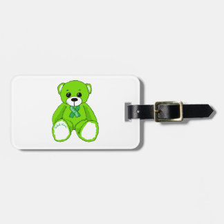 Cerebral Palsy Awareness Teddy Bear Products Luggage Tag