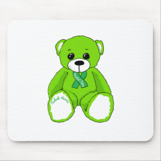 Cerebral Palsy Awareness Teddy Bear Products Mouse Pad