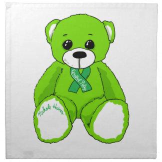 Cerebral Palsy Awareness Teddy Bear Products Napkin