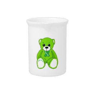 Cerebral Palsy Awareness Teddy Bear Products Pitcher