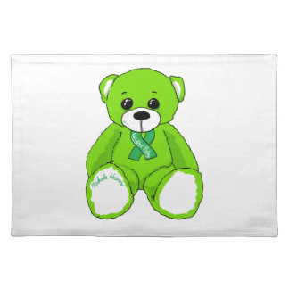 Cerebral Palsy Awareness Teddy Bear Products Placemat