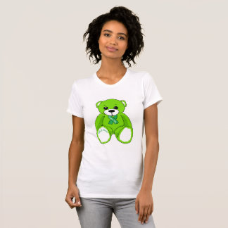 Cerebral Palsy Awareness Teddy Bear  T-shirt