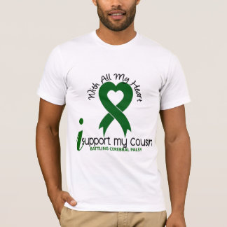 Cerebral Palsy I Support My Cousin T-Shirt