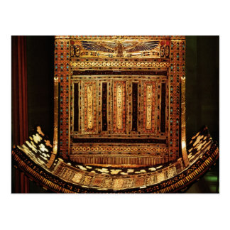 Ceremonial Chair of Tutankhamun Postcard