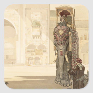 Ceremonial Elephant, from 'The Jungle Book' by Rud Sticker