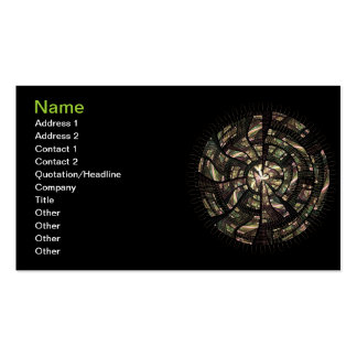 Ceremonial Shield Business Card