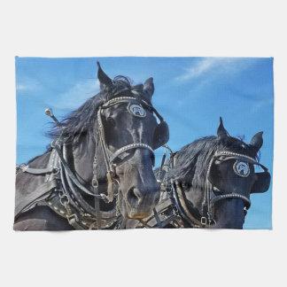Ceremonious Western Horse Kitchen Towel