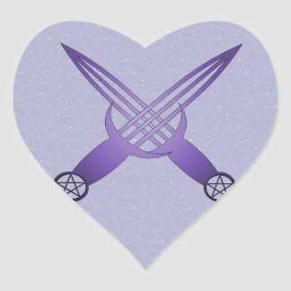 Ceremony Tools Heart Sticker