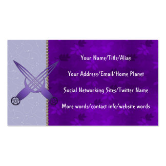 Ceremony Tools Pack Of Standard Business Cards