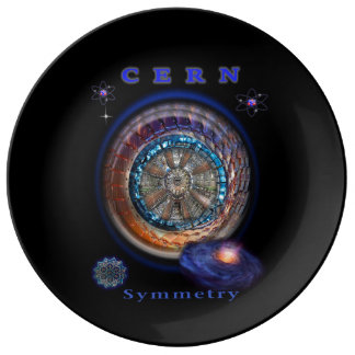 CERN Large Hadron collider  items Plate