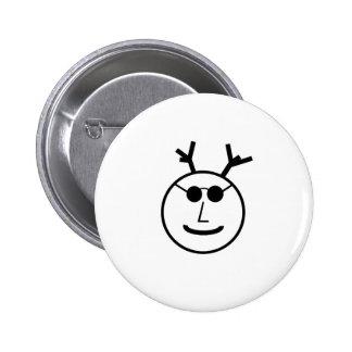 Cernunnos In Shades 6 Cm Round Badge
