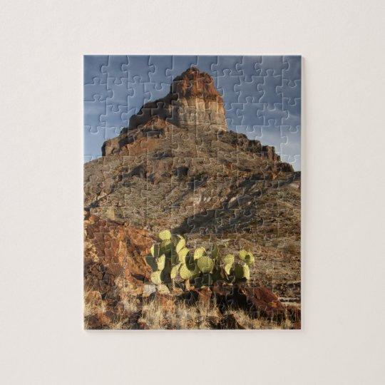 Cerro Castellan at Sunset Jigsaw Puzzle