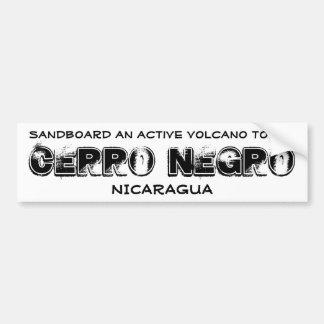 Cerro Negro Bumper Sticker