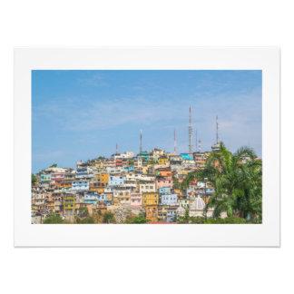 Cerro Santa Ana Guayaquil Ecuador Art Photo