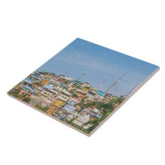 Cerro Santa Ana Guayaquil Ecuador Large Square Tile