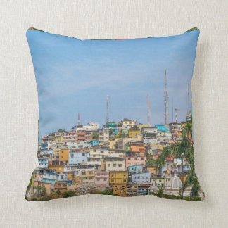 Cerro Santa Ana Guayaquil Ecuador Throw Pillow