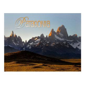 Cerro Torre and Monte Fitz Roy, Patagonia Postcard