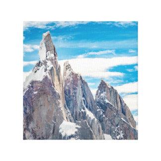 Cerro Torre Parque Nacional Los Glaciares Canvas Print