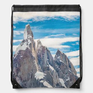 Cerro Torre Parque Nacional Los Glaciares Drawstring Bag