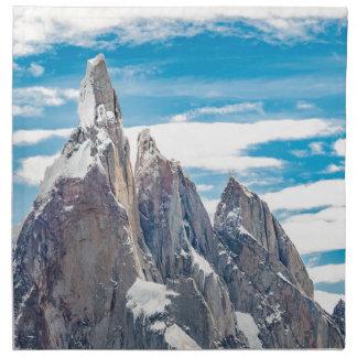 Cerro Torre - Parque Nacional Los Glaciares Napkin