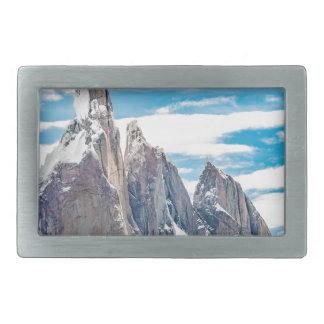Cerro Torre - Parque Nacional Los Glaciares Rectangular Belt Buckles