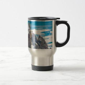Cerro Torre - Parque Nacional Los Glaciares Travel Mug