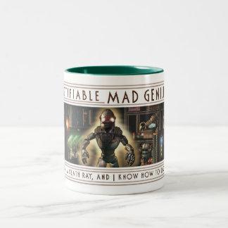 Certifiable Mad Genius Mug