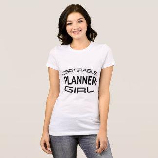 Certifiable Planner Girl Shirt (Diamonds)