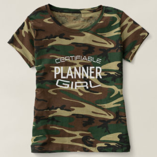 Certifiable Planner Girl Shirt with Pink