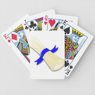 Certificate Bicycle Playing Cards