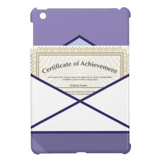 Certificate in Envelope Vector iPad Mini Cases