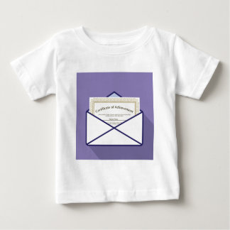 Certificate in Envelope Vector T-shirts