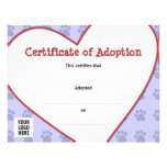 Certificate of Pet Adoption