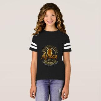 Certified Africa Country Fan Girl's Football Shirt