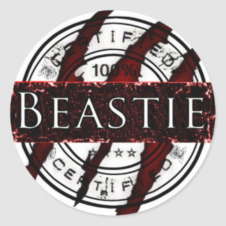Certified Beastie sticker
