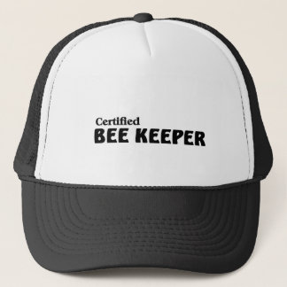 Certified bee Keeper Trucker Hat